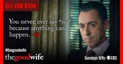 the good wife conseils d'eli gold saison 6