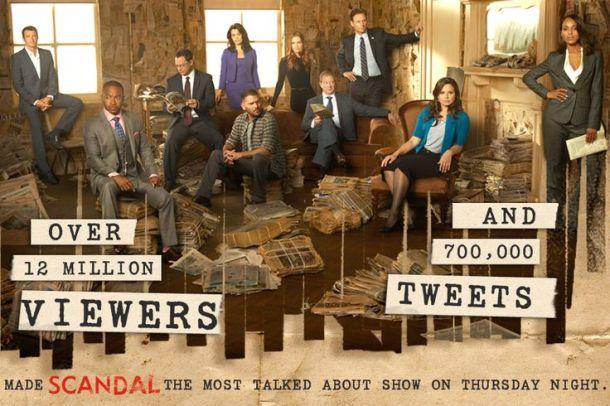 social TV scandal marketing twitter réseaux sociaux