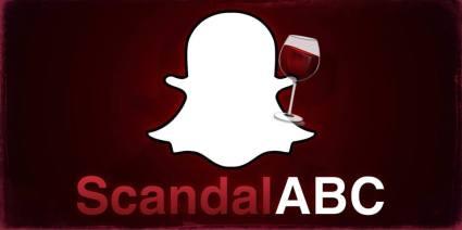 Scandal Snapchat 25 septembre 2014 épisode 1 de la saison 4.