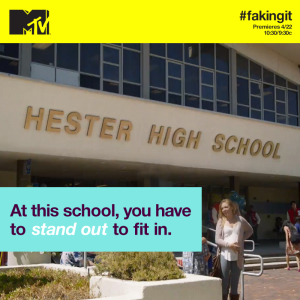 hester high faking it