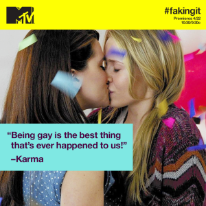 faking it karma amy