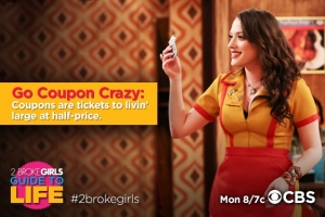 2 broke girls max enseigne l'art du coupon de réduction à caroline