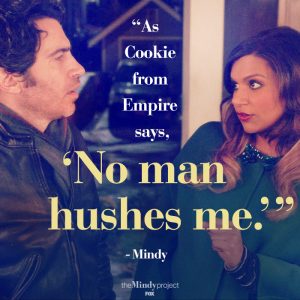 cookie empire citation mindy project