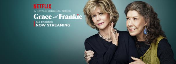 Jane Fonda est Grace, Lily Tomlin est Frankie