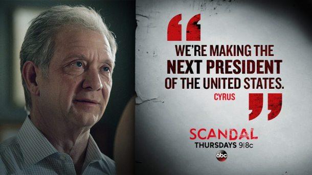 scandal saison 5 presidet cyrus